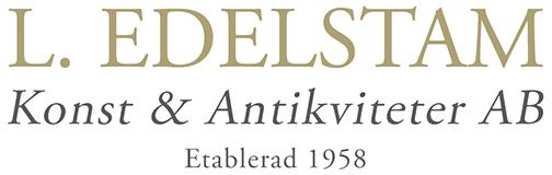 L. Edelstam Konst & Antikviteter