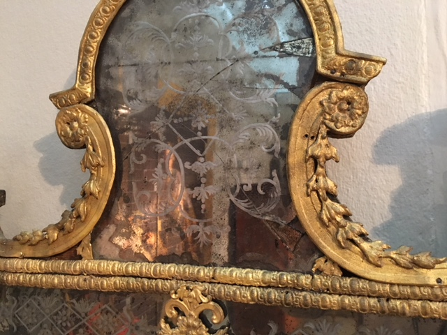 Spegel Precht övre glas