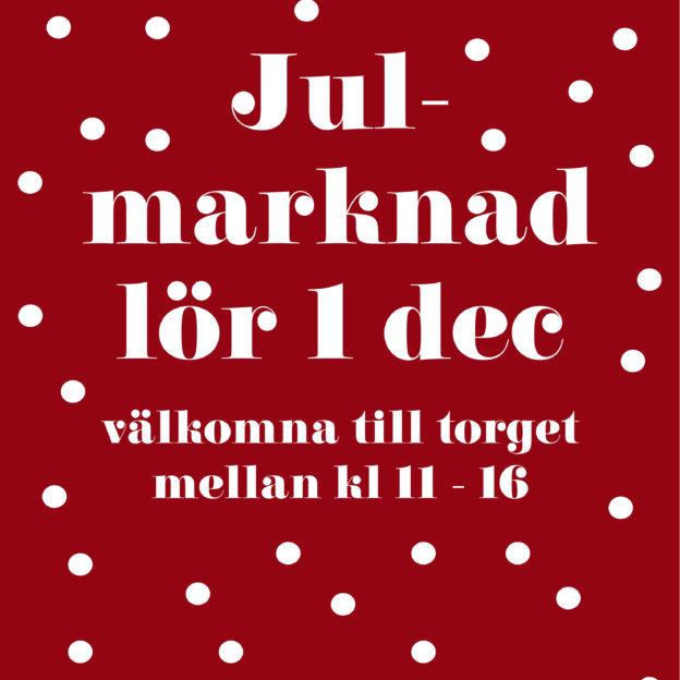 affisch 50x70 julmarknad 2018
