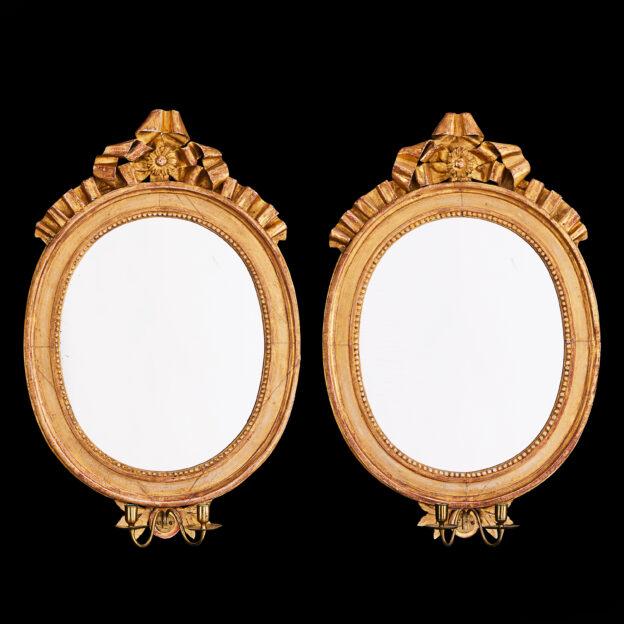 gustavianska spegellampetter